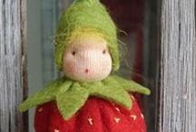 felt...felted wool / by Linda Clark