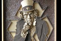 Cardboard Art | Corrugated Art
