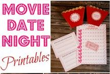 Date Ideas / Loads of free date ideas including free printable games, activity ideas for in your home or outside your home, quick date idea tips and more!