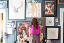 Art Display / Art galleries and display