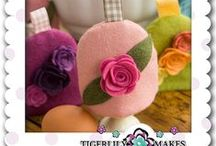 Home Decor & Lifestyle  / A collection felt making Kits for Home Making and handmade home decor items including made to order ranges by Tigerlily Makes Chief feltreprenuer Lisa Marie Olson
