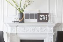 mantels + fireplaces / Mantels and fireplaces