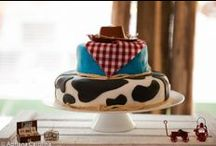 Farm Party / Farm Birthday Ideas includes ideas for a farm animal party, western party and cowboy party. These ideas include party themes, party games for kids, party decorations, easy party food and more party planning ideas.