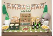 Sports Party / Sports party ideas includes party ideas for football, baseball, soccer, hockey and more! Party food, party decorations, party games and more!