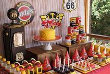 Racing Party / Racing birthday party ideas, party games, party food, racing party decorations, favor ideas and more!