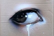 """MYSTIC EYE / """"It's like she had a soul that was much too big for her; it filled her to the brim till there was no more space, so it flowed out through her eyes."""" ― Nick Lake, In Darkness"""