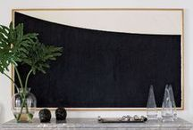 BLACK & WHITE - Interiors / EBONY & IVORY  BLACK & WHITE    ASIAN CHINESE JAPANESE