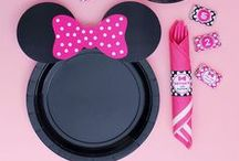 Minnie Mouse Birthday / Minnie Mouse Birthday Party Ideas - an adorable Minnie's Bowtique theme. / by Moms and Munchkins