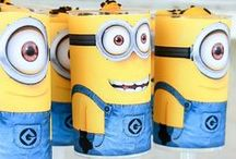 Minion Party / Minion party ideas including DIY projects, party decorations, Minion food, Minion party favors, Minion activities and more!