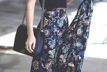 Maxi skirts / Maxi skirts. Elegant, boho, hippie, chic