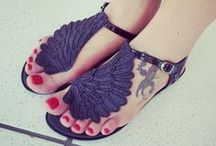 Sandals / Sandals boho, hippie, cute