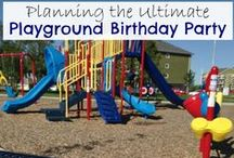 Playground Party / Fun ideas for a party hosted at a playground! Party treats, game ideas and more!