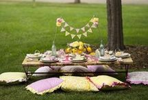Picnic Party / Tips for planning a picnic party for kids - picnic food, party games and more!