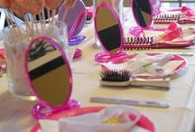 Makeover and Mocktails Party / Makeover and Mocktails Party for Tween Girls - includes a mixture of a spa and makeup party. Here you'll find pretty DIY decorating ideas, favors, activities, kid-friendly Mocktails recipes  and more!