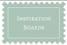 Inspiration Boards / Inspirational boards to help you get creative and to see the many possibilities. / by DIY Weddings® Magazine
