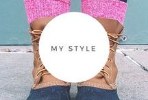My Style / Things that are in my closet and things I wish were.