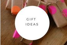 Gift ideas / Ideas to give when you need something unique.  With a preference to clutter free and consumable items.