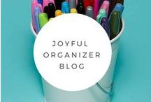 The Joyful Organizer Blog / Click on picture to read blog entry.  We post recipes, crafts, fashion, products, and of course, lots of organizing!