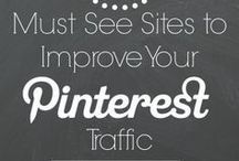 How to use Pinterest for blogging / This is a group board to pin posts that are relevant to driving traffic to your board through Pinterest