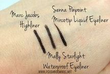 Makeup Swatches / by polish insomniac