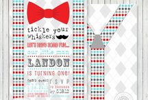Little Man Party / by Petite Party Studio
