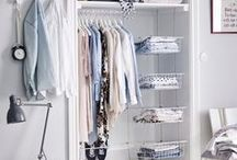 STORAGE / Storage ideas and tips. Easy and practical storage ideas for all around the home. Clothing storage, space savers, organisation solutions + easy hacks.