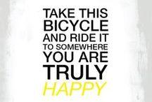 BIKING MAKES US HAPPY