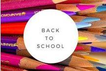 Back to School / Ideas for teachers, school organization and academic success.