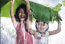 I love the rain the most