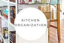 Kitchen & Pantry Organizing / Need to get your kitchen in order?  Here are some ideas for even the smallest cooking area.