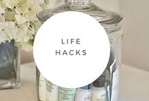 Life Hacks / Sometimes a small tip can make a big difference  Try these on for size.