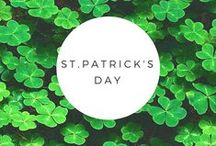 St. Patrick's Day / The luck of the Irish is with you when you plan for the holiday with this board.