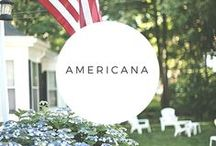Americana / Patriotic ideas, crafts and foods for the 4th of July and all year too.