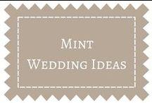 Mint Wedding Ideas / by DIY Weddings® Magazine