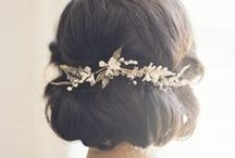 Wedding hairstyles / Hairstyles I like for the big day