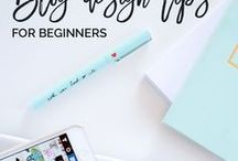 BLOGGING TIPS / Blogging ideas, blogging inspiration, blogging for beginners, blogging for money.