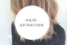 Hair-spiration / Ideas for my hair.  And yours.