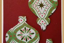 Holiday Ornaments / Holiday Ornaments Die from Stampin Up