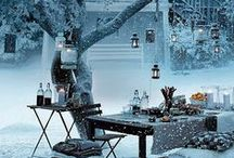 Winter-bash / an imaginary outdoor winter party