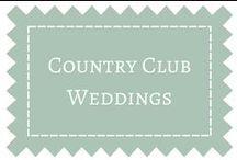 Country Club Wedding Ideas / Weddings at Country Clubs / by DIY Weddings® Magazine