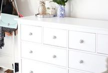 I K E A  H A C K S / The cheap + easy way to update your home with pieces from Ikea.
