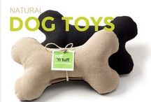Natural Dog Toys / Natural and safe dog toys. No plastics or chemical nasties.