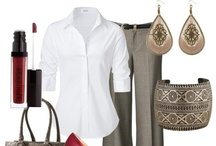 My Style / Ever get stuck as to what image you'd like to project? This is my vision board for my wardrobe!