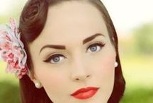 Pin-Up Pretty | Beauty.com / The Pin-Up girl look has been around for decades, but never gets old. Check out these inspiring Pin-up looks. / by Beauty.com