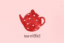 Home sweet home / Illustrations and drawings of tableware, appliances and some furniture