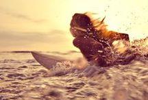 S U R F / Auf Maui die größten Wellen reiten und abends gemütlich am Lagerfeuer sitzen – paradiesische Aussichten für alle Surf-Fanatiker. Lässiger Lifestyle gepaart mit sportlichen Höchstleistungen, das spiegelt sich auch in der Garderobe der Surfboys und Chicks wieder. Keypieces: Beachwear und lässige Shirts. Get on board now!
