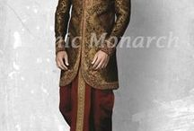Ethnic Wears / This board is for wedding dress from Ethnic Monarch which provides variety of Ready-made & customized, traditional and wedding dresses that are fashionable & trendy with perfect fit. We have a variety of dresses such as blazers, jackets, coat, western suits, tuxedos, wedding suits, wedding wear suits, sherwani, Nehru jacket, modi  jacket,breeches,hunting coat, hunting shirt,indo-western, dhoti, kurta ,wedding wear, groom dress ,traditional wear ,customized dresses ,Indian dress , Indian wear.