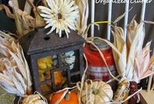 Fall/Autumn / Seasonal fall decor and ideas. / by Organized Clutter