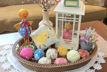 Easter/Spring / Seasonal decorating ideas/crafts. / by Carlene @ Organized Clutter