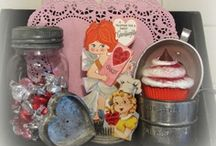 Valentine's Day / Valentine's day decor and crafts. / by Carlene @ Organized Clutter